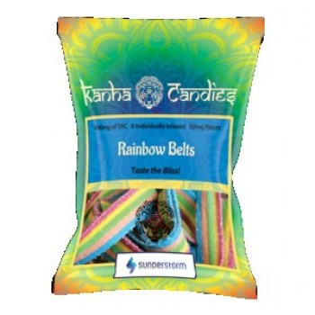 Kanha Candies - 400mg Rainbow Belts